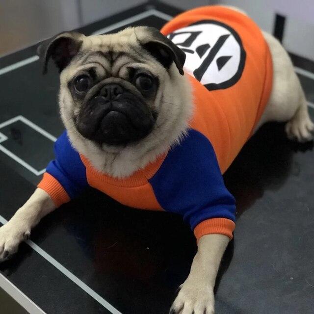 Autunno/Inverno Caldo Pug Bulldog Francese Domestico Del Cotone Morbido Maglie e