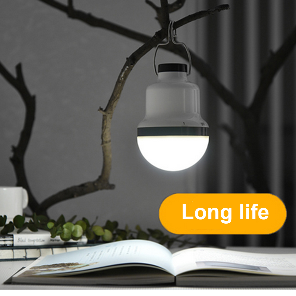 ICOCO Unique Portable Magnet Control Switch Waterproof Anti-explosion Light Diming Emergency Mobilephone Chargeable LED Lamp