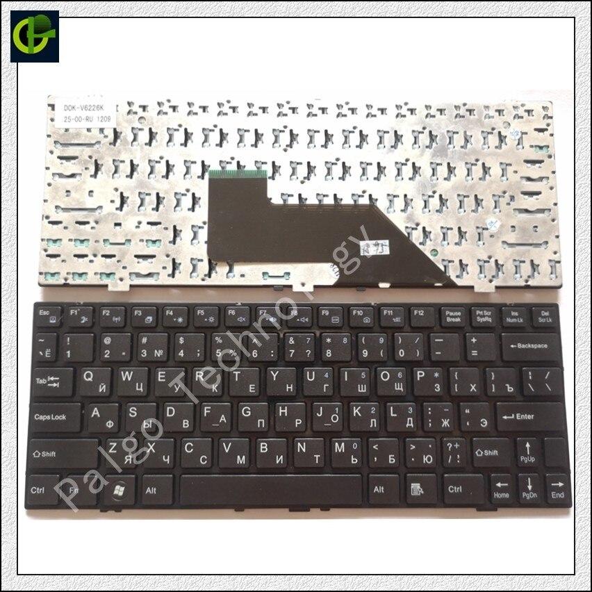 Russian Keyboard For Lengda P116 P116K H116 H116V M116V M116C M116P M116CC D0K-V6226K 25-01-RU 1212  D0K-V6126K 88-00-RU Black