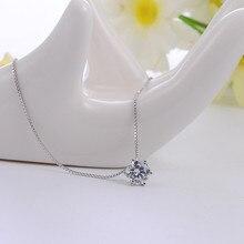 Silver 925 jewelry necklace Women  korean Pendant