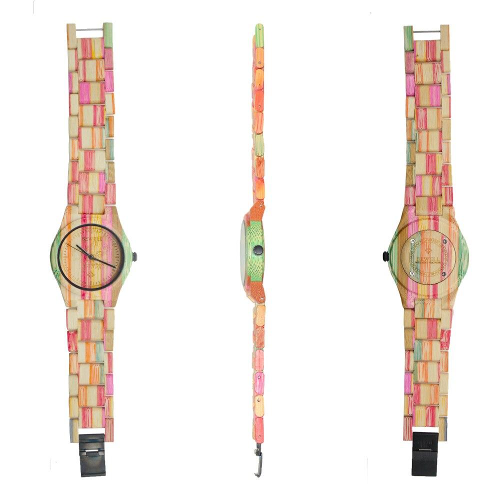 fashion bracelet watches wooden