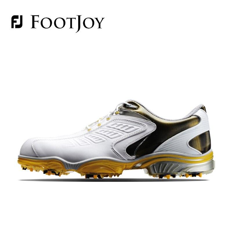 FootJoy FJ Men s font b Golf b font Shoes Genuine Leather Breathable Waterproof Stability SALE