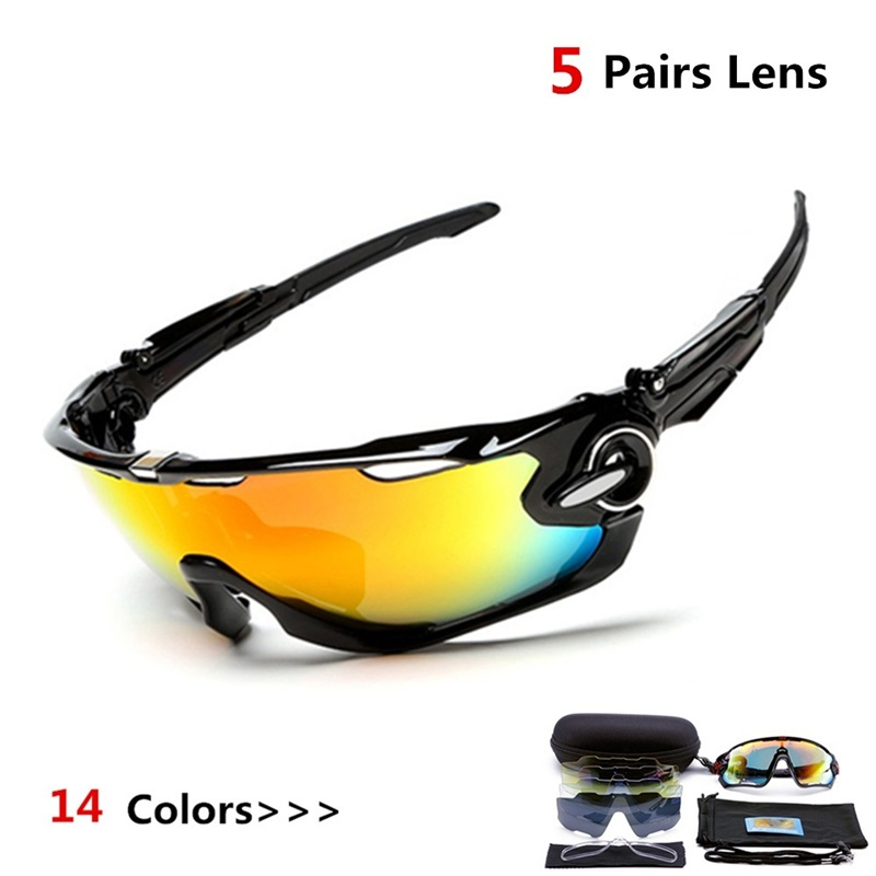 29726877398 Detail Feedback Questions about 5 Lens Polarized Fishing Glasses Men Jaw  Sport Fishing Sunglasses Men UV400 Breaker MTB Fishing Eyewear Bike Bicycle  Goggles ...