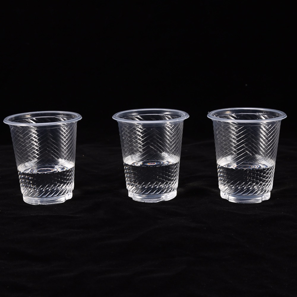 W 50pcs Clear Plastic Disposable Drink Cups New Bulk ...
