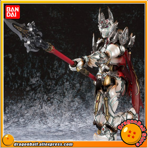 Japan Anime GARO Original BANDAI Tamashii Nation MAKAI-KADO Exclusive Action Figure - White Night Knight Dan 100% original bandai tamashii nations s h figuarts shf exclusive action figure garo leon kokuin ver from garo