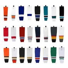Frete grátis meias de hóquei no gelo 100% poliéster prática meias para a equipe