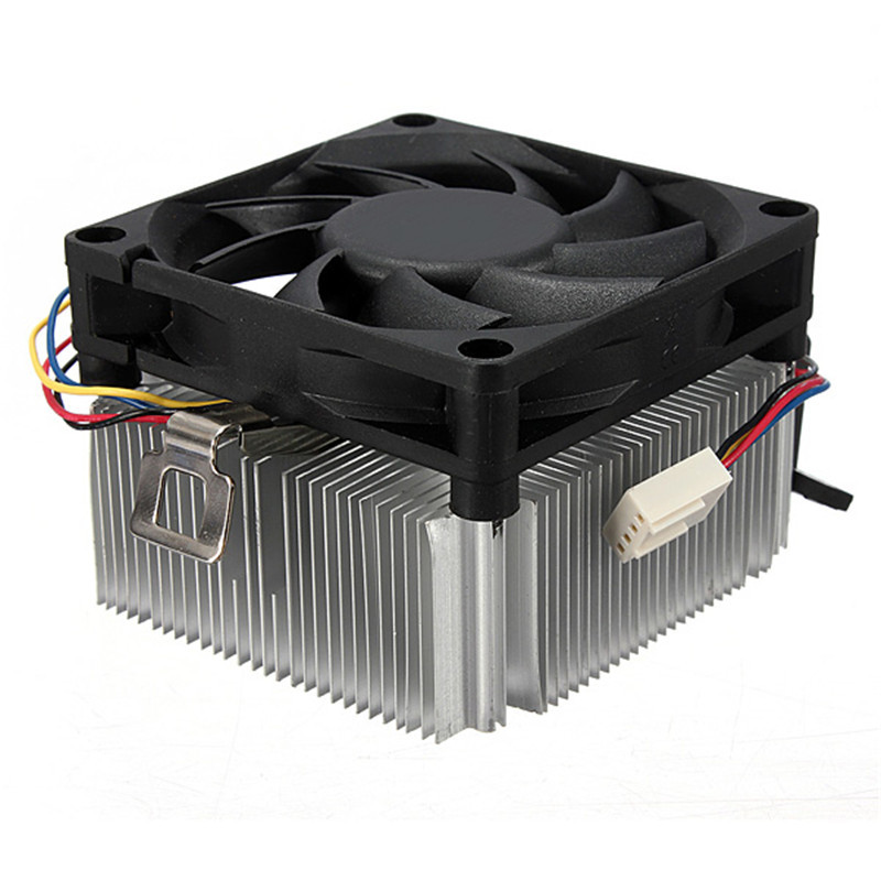 CPU Cooler Fan Radiator 9 Leaf 4 Pins 95W CPU Cooling Fan Aluminum Heatsink For AMD Socket AM2/3 754 939 940 1A02C3W00 2016 new ultra queit hydro 3pin fan cpu cooler heatsink for intel for amd z001 drop shipping