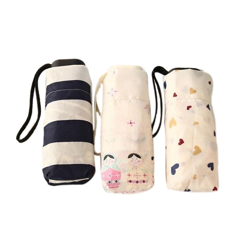 1 шт. складной зонтик 200 г свет маленький складной карманов Зонты дождь для Для женщин дети