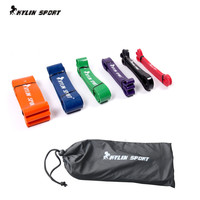 Free Shipping 6 colors available Resistance Bands Loop Fitness  Power Lifting Pull Up Rubber Elastic Band