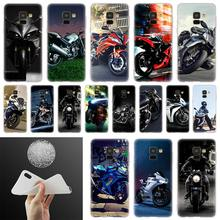motor bike Soft Cover Phone Case For Samsung Galaxy A50 A10 A20 A30 A40 A60 A70 A6 A8 Plus A7 A9 2018 A3 A5 2017 A90(China)