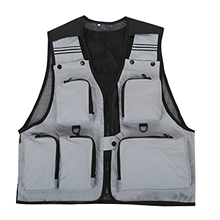 Multifunction Fishing Vest With Pockets Outdoor Sports High Quality Fishing Vest Backpack Fly Fish Accessory