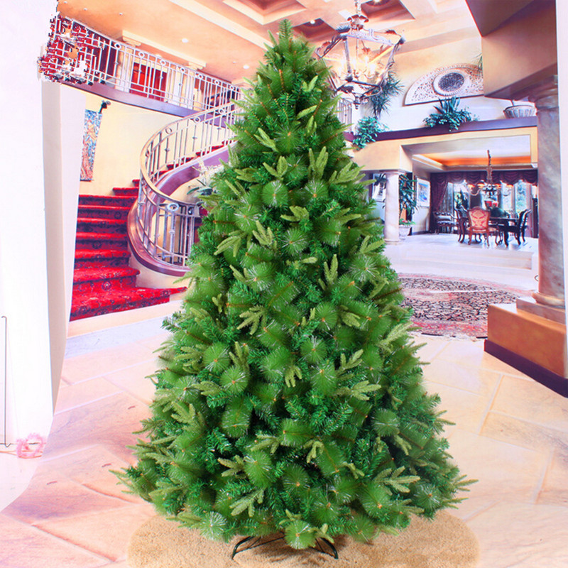 Christmas New Year Factory Direct 3.0M 4.0M Upscale Hotels Shopping Malls Clover Mixed Tree Christmas Decoration