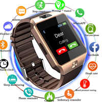 2018 TOP Bluetooth Smart Watches DZ09 Smartwatch For Android Apple Phone Clock Support Facebook Whatsapp SD SIM With Camera