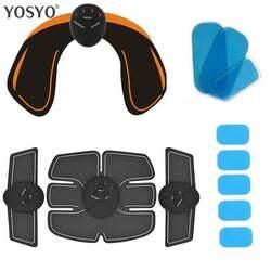 Smart EMS бедра тренер Электрический миостимулятор Беспроводной ягодицы ABS брюшной стимулятор Фитнес тела, массажер для похудения вязать