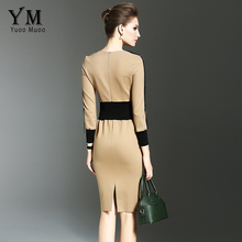 Fashion Autumn Pencil Dress