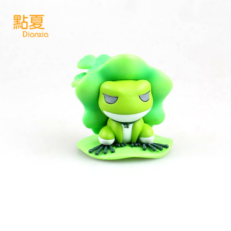 DIANXIA New Hot Japan Game Travel Frog Q Version Action Figure Toy With Box PVC Size 9.5*8*10cm action game cartridge alcahest english language usa version