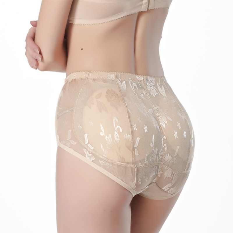 2019 고품질 여성 knickers 실리콘 패딩 팬티 shapewear 엉덩이 엉덩이 강화 속옷