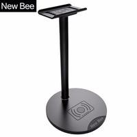 New Bee Newest Headphone Wireless Charging Stand Holder Headphone Stand Holder Fashion Display For Headphones Bracket