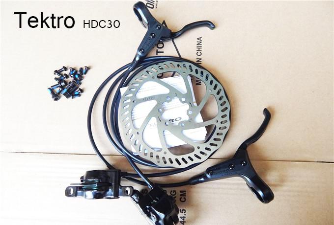 Cool price New Tektro HDC300 brake oil oleodynamic disc screw disc 160mm MTB  hydraulic disc brake tektro 300 hydraulic disc brake