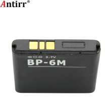 BP6M Antirr BP-6M BP 6M Battery Replacement FOR NOKIA 6233 6280 6288 9300 N73 N93 Batteries Batteria(China)