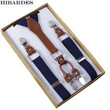 4 Clip Men's Suspenders Men Braces Supports Suspenders For Women Elastic Adjustable Pants Suspenders Men's Straps Clothing