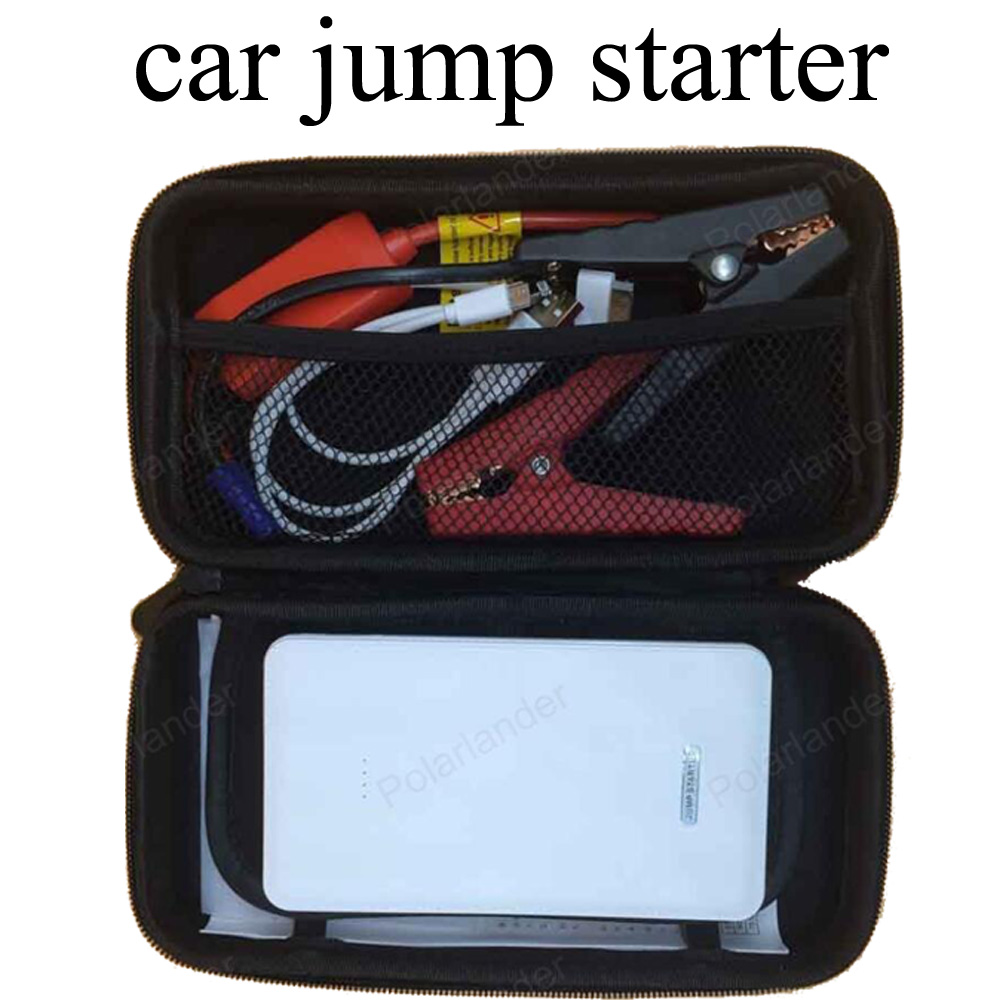 Mini portable car jump starter multi function petrol power bank battery charger 12V auto start booster