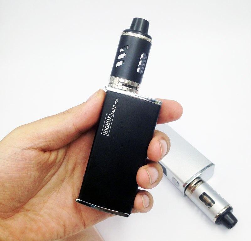 High Quality 80W  Electronic Cigarette Box Mod Kit Vaporizer Vape Vaping Huge Vapor Big Smoke 2200mah Smoker Vaper E Cig Smoking