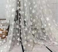 1 ярдов кот звезда аппликация Кружево Ткань красивая чистая Вышитые Свадьбы Одежда Аксессуары 130 см