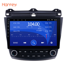 Harfey For Honda Accord 7 2003 2004 2005 2006 2007 Car Radio GPS Navigation Android 6.0 Car Audio Player Touch Screen Quad Core