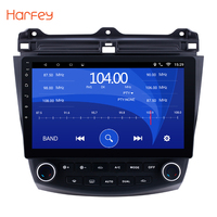 Harfey For Honda Accord 7 2003 2004 2005 2006 2007 Car Radio GPS Navigation Android 8.1 Car Audio Player Touch Screen Quad Core