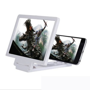 3D мобильного телефона Экран Лупа увеличенные Экран смартфон усилитель лупа кронштейн держатель сотового телефона