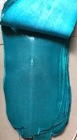 Junetree настоящая кожа ската кожи скрыть коврик для ползания шлифованной кожи Большой Большие размеры натуральный Manta Ray рыбьей кожи цвета: син...