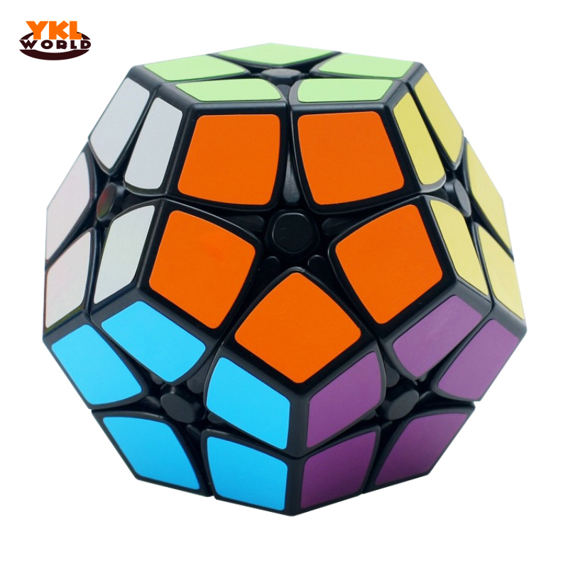 YKLWorld 2x2 Dodecahedron Magic Cube Master-Kilominx Cubo Magico Puslespill Educational Toy for Children Kids Gift (S0