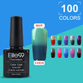 Elite99 Mood Temperature Changing Nail Gel 10ml UV Nail Polish Gel Varnish Thermal Color Change Nails Gel Polish
