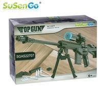 SuSenGo Atak Model Building Block M107 Pistolet Karabin Wojskowy Demontażu Grać Zestawy Dla Dzieci Zabawki