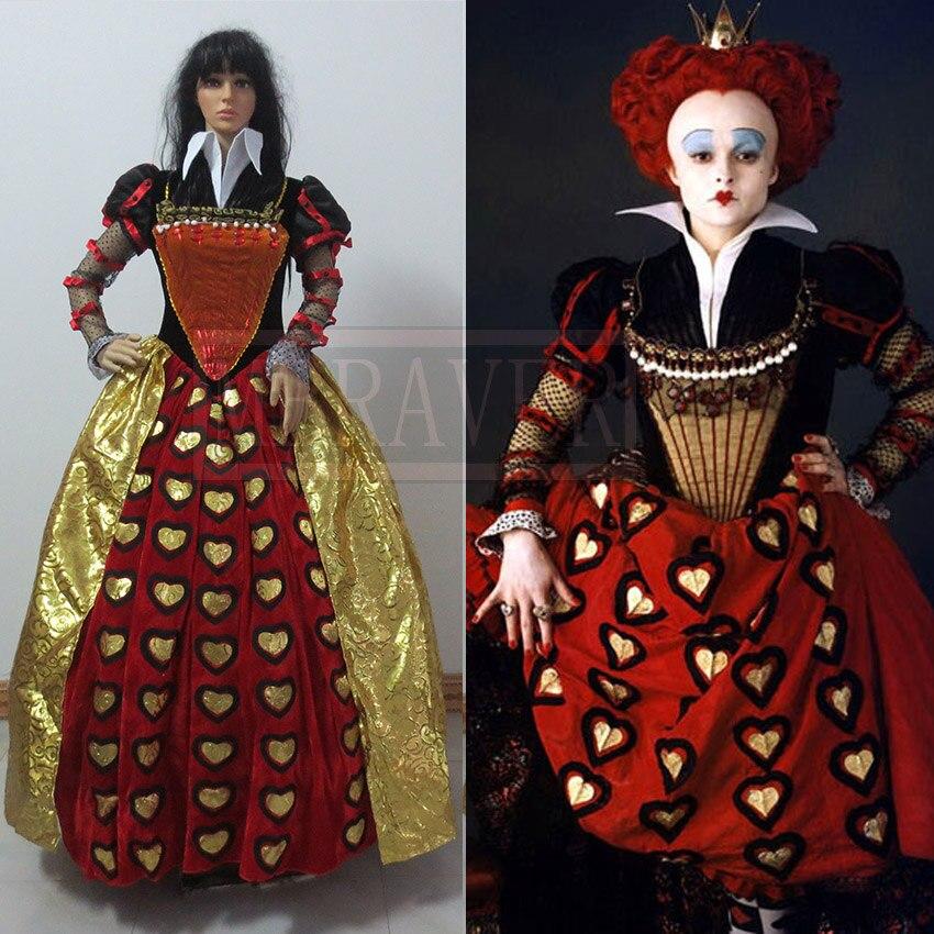Платье красной королевы из алисы в стране чудес
