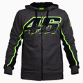 2016 Brand New Men's Clothing Valen Rossi VR46 Hoodies Sweatshirts MotoGP Hoodies Motorcycle Casual Winter Sports Jackets