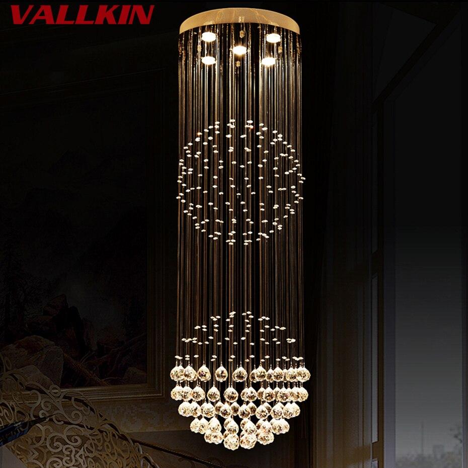 Moderní LED křišťálový lustr světla pro obývací pokoj - Vnitřní osvětlení