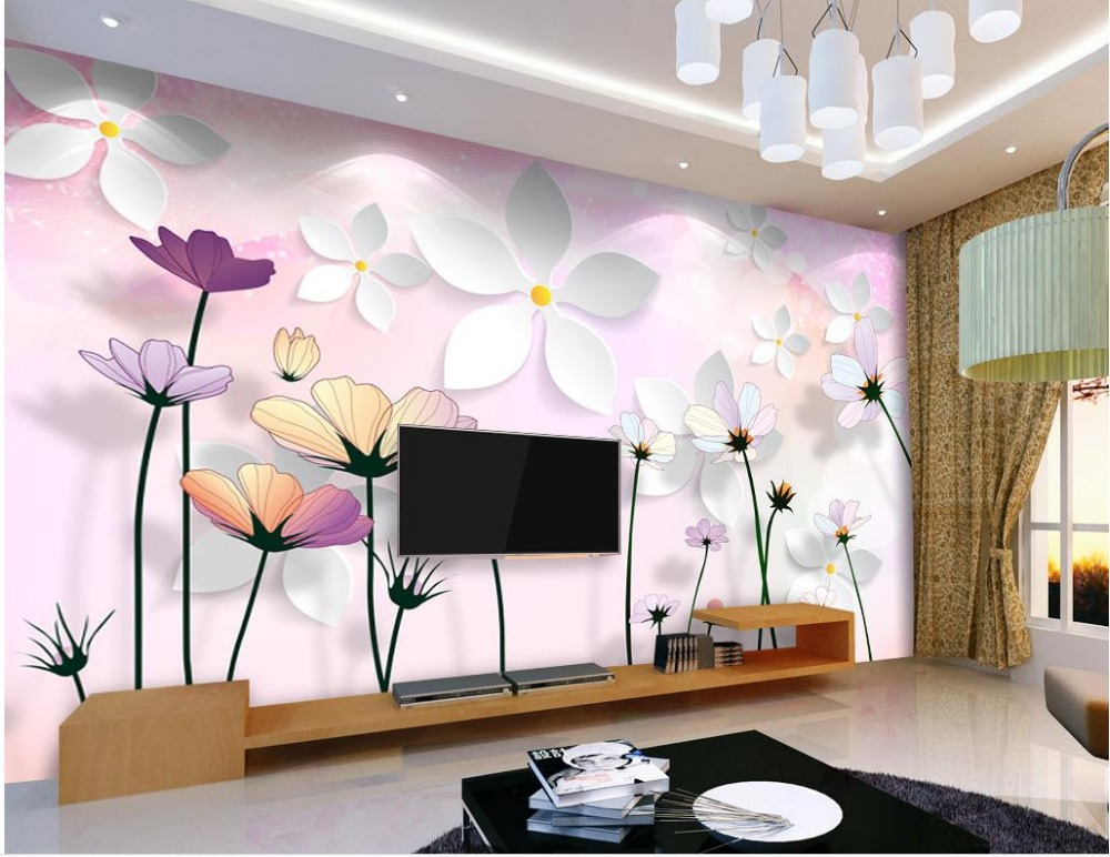 Custom photo wallpaper 3D stereoscopic Wall Decoration Home Decoration