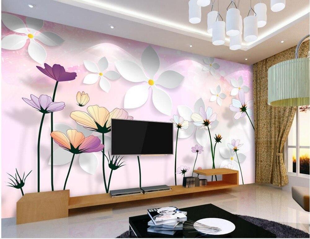 Personnalise Photo Papier Peint 3d Stereoscopique Mur Decoration