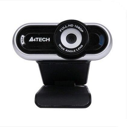 714bf60018c Original A4tech pk-920h HD 1080P Web Camera Full-HD USB Webcam 1920*1080 Web  cam 1600 megapixel skype msnbuilt-in Microphone