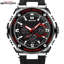 Digital-Watch 2017 Men Top Brand Pirate Series LED Quartz Wrist Watches Men's Luxury Sport Fashion Male Watch Relogio Masculino