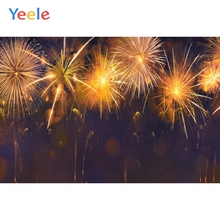 Yeele Lunar New Fireworks Photocall Family Party Photography Backdrops Personalized Photographic Backgrounds For Photo Studio