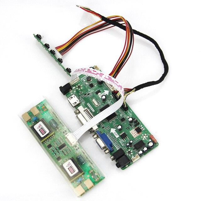M. NT68676 LCD/LED Placa de Driver de Controlador (HDMI + VGA + DVI + Audio) Para LTM230HT01 M236H1-L01 1920x1080 LVDS Monitor de Reaproveitamento Laptop