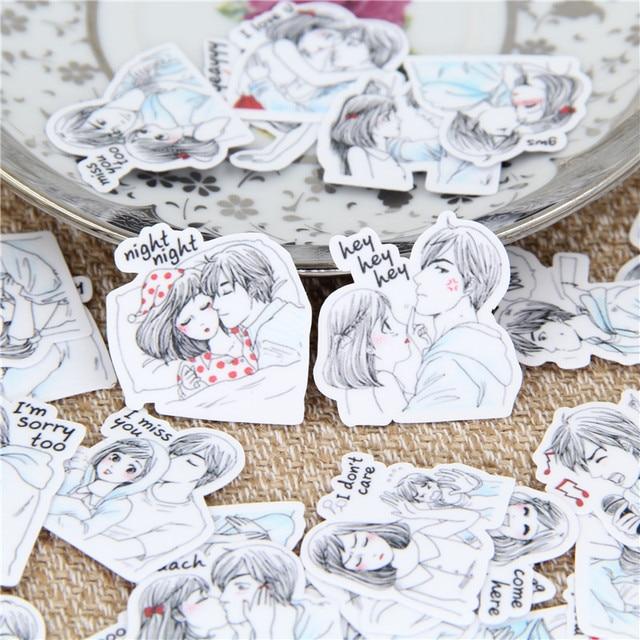 31 piezas pegatina niños diario de papel Scrapbooking fresco pequeño par de pegatinas de bricolaje caseras para niños juguetes clásicos