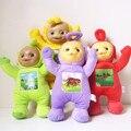 1 Unids 33 cm Teletubbies juguetes Del Bebé de peluche Muñecas 3D Exportación EE. UU. juguete para Los Niños Los regalos de Navidad Niños regalo TV Muñeca libre gratis
