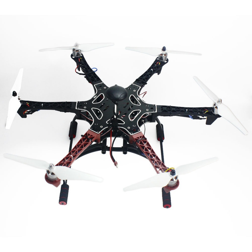 Assembled F550 6-Aix Kit with APM 2.8 Flight Controller GPS Compass No Battery / Charger No Gimbal F05114-AU