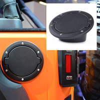 Beler Fuel Filler Cover Gas Tank Cap Fit For Jeep Wrangler JK Rubicon Sahara Unlimited 2