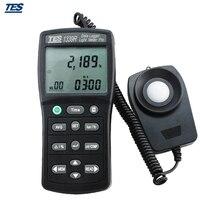 TES-1339R 데이터 로거 라이트 미터 luxmeter (RS-232) 0.01 ~ 999900 lux pc 데이터 기록