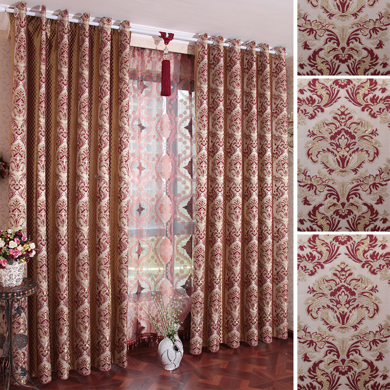 Buy morden window curtains living room bedroom solid color for Buy curtain fabric online